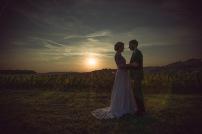 tramonto in Monferrato