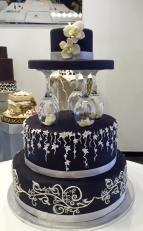 Torta Black hat - wedding cake