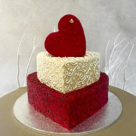 Torta Cuore -wedding cake
