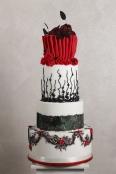 Torta Muolin Rouge - wedding cake