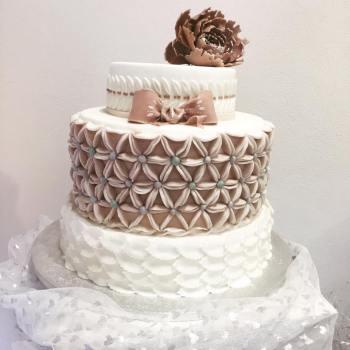 Torta Rosa vintage - wedding cake