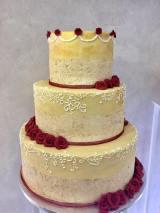 Torta Vintage crema - wedding cake
